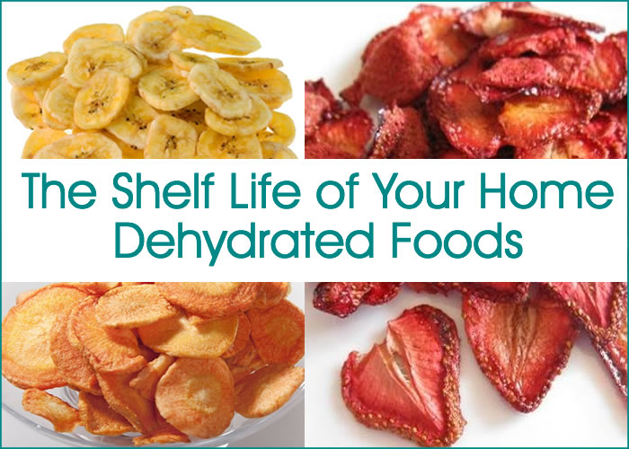 The Shelf Life of Your Home Dehydrated Foods