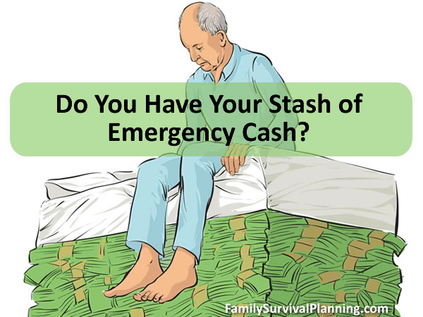 Every Prepper Needs to Stockpile Emergency Cash
