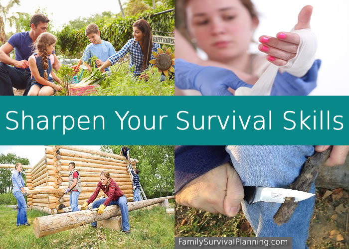 Sharpen Your Survival Skills