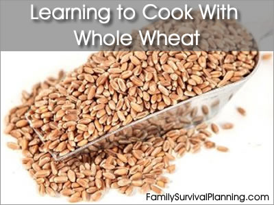 Learning to Cook With Whole Wheat