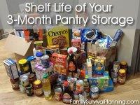 Short-Term Shelf Life