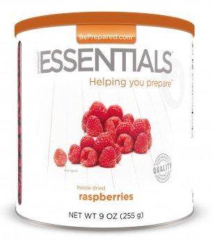 Raspberries at Emergency Essentials