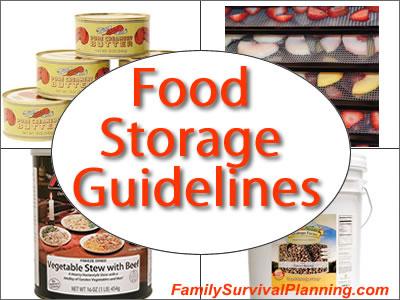 Food Storage Guidelines
