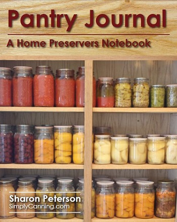 Pantry Journal by Simply Canning