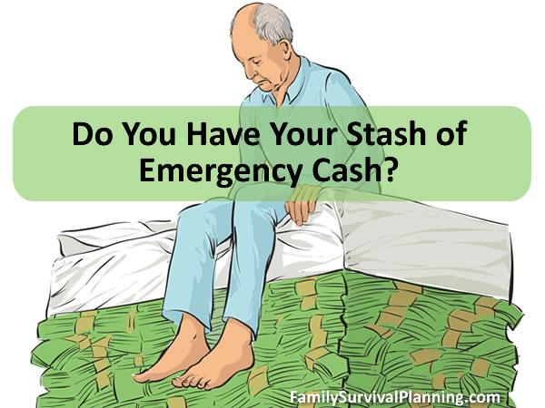 Every Prepper Needs to Stockpile Emergency Cash