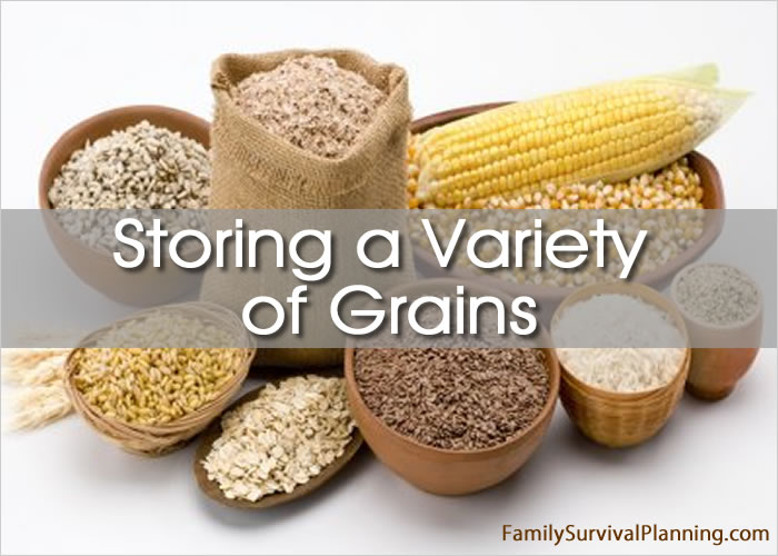 Storing a Variety of Grains
