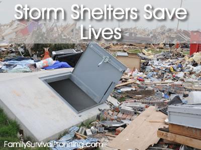 Storm Shelters Save Lives