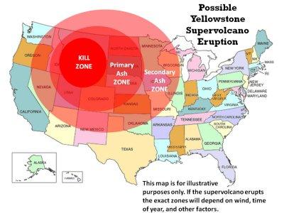 Possible Yellowstone Volcano Eruption